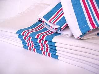 6PK - Soft 100% Cotton Nursery Receiving Hospital Baby Blankets 30 x 40 Hospital Swaddle Baby Blanket