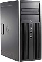 HP Compaq 8200 Elite Minitower PC - Intel Core i5-2400 3.1GHz 8GB 250GB DVDRW Windows 10 Professional (Renewed)