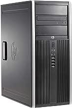 HP Compaq 8200 Elite Minitower PC - Intel Core i5-2400 3.1GHz 8GB 250GB DVDRW Windows 10 Professional (Renewed)