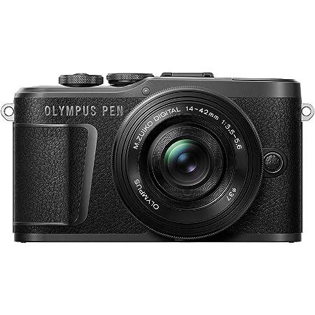 OLYMPUS ミラーレス一眼カメラ PEN E-PL10 14-42mm EZレンズキット ブラック