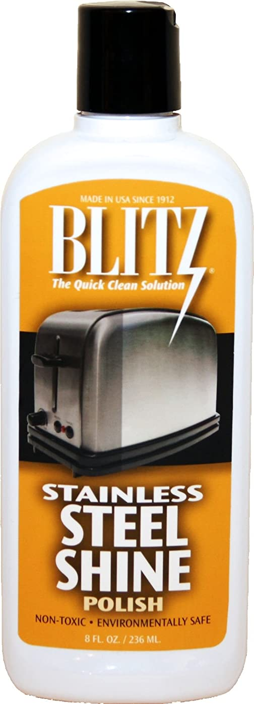 Blitz 20641 2-Pack Stainless Steel Shine Polish