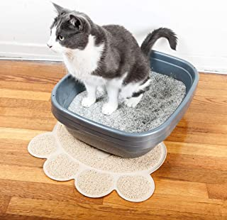 Pet Magasin 猫トイレマット(2枚セット)- 無害&柔らか&丈夫&防水加工 猫、成犬、子犬用 (XL)