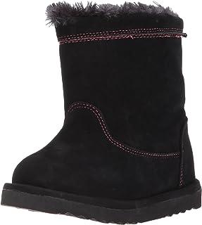 حذاء غربي تشيف للأطفال بناتي أنيق من القطيفة سهل الارتداء