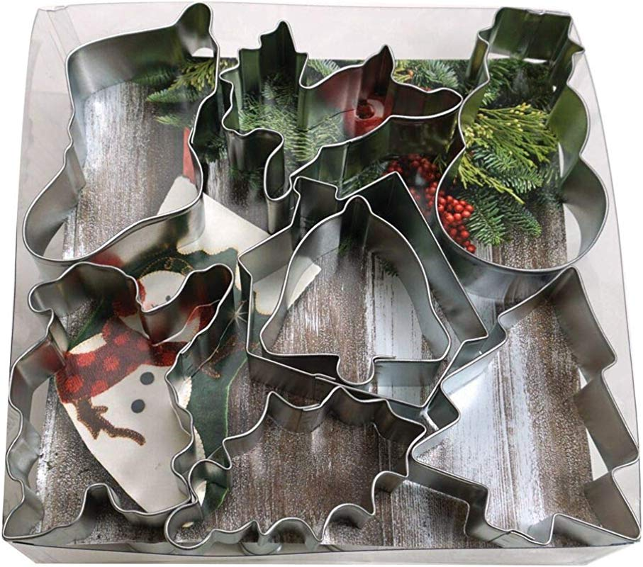 R M International 1905 Christmas Cookie Cutters Assorted Designs 15 Piece Set