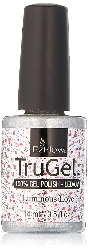 句該当する校長EzFlow TruGel Gel Polish - Luminous Love - 0.5oz / 14ml