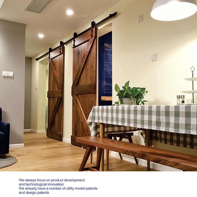 Togu tg-9020 5 ft (forma de J) (puerta) puerta corrediza de ...