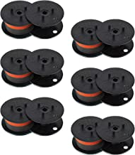 6 Black Red Calculator Ribbons Replacements for Canon (MP11DX MP-11DX)