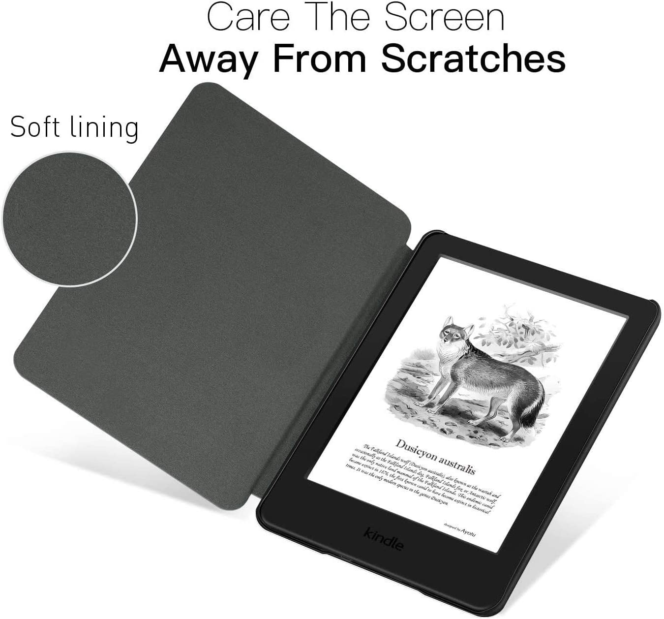 Case for All-New Kindle Paperwhite Galaxy - Premium Lightweight PU Leather Cover with Auto Sleep//Wake for  Kindle Paperwhite E-Reader 10th Generation, 2018 Release