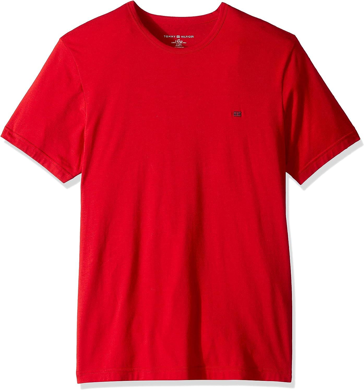 Tommy Hilfiger Men's Undershirts Cotton Popular brand in the world Max 70% OFF T-Shir Crew Premium Neck