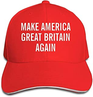 Retro Fitness Baseball Caps Make America Great Britain Again Sandwich Hats