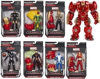 Marvel Legends Age of Ultron Hulk Buster Build A Figure Set   Vison, Dr. Strange, War Machine, Now Iron Man, Blizzard, Valkyrie & Thundra  