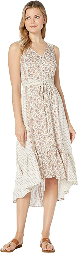 8f1ef34c048 Lucky Brand. Printed Felice Dress.  109.00. New. Natural Multi