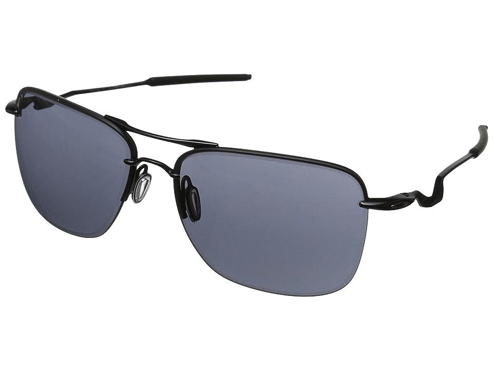 27b8d4f974 UPC 888392084361 product image for Oakley TailHook (Satin Black w Grey)  Sport Sunglasses ...