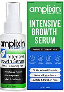 Sponsored Ad - Amplixin Intensive Biotin Hair Growth Serum - Hair Loss Prevention Treatment For Men & Women With Thinning ...