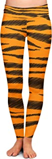 Rainbow Rules Tigger Stripes Winnie The Pooh Inspired Yoga Leggings - Full Length, Low Waist