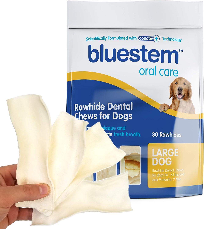 bluestem Rawhide Dental Chews for Dogs