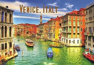 Venice, Italy, Canal, Boats, Gondola, Travel, Souvenir Magnet 2 x 3 Fridge Photo Magnet
