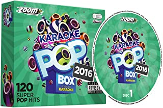 Zoom Pop Box 2016: A Year In Party Pack G 120 Songs