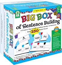 Key Education Publishing Big Box of Sentence Building Games Learning Materials for Age 5 and Up , 840008
