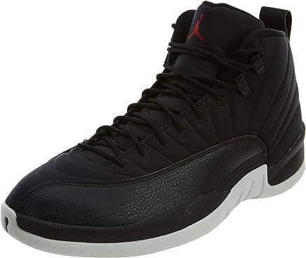 Nike Air Jordan 12 Retro - Basketaballschuhe, Farbe Schwarz (schwarz Gym rot-Weiß), Größe 42 B01KZM3IJ2 | Genialität