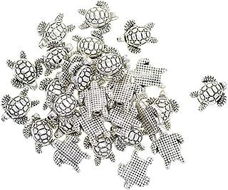 100pcs Distanziatore Forma Tartaruga per Bracci Fai da Te Artigianato Ornamenti