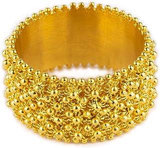 Sanna Gioielli Fede sarda Circolare 4 File in filigrana Oro 750/1000