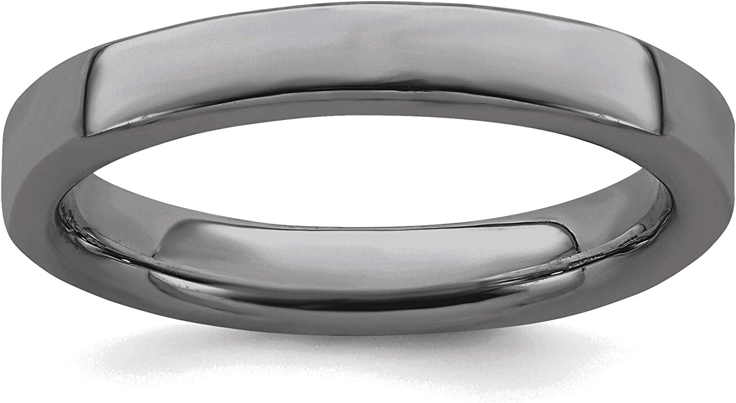 Bonyak Jewelry Solid Sterling Silver Expressions Black Ranking TOP9 Stackable Popular standard