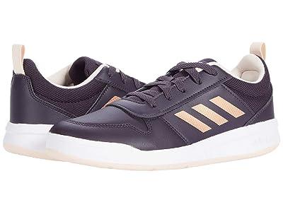 adidas Kids TENSAUR (Little Kid/Big Kid) (Noble Purple/Copper Metallic/Pink Tint) Girls Shoes