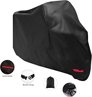 Dust-proof Cover Bike Motorcycle Cover -Waterproof Outdoor Rain UV -210D Oxford Cloth Motorbike Protector -Camping Accesso...