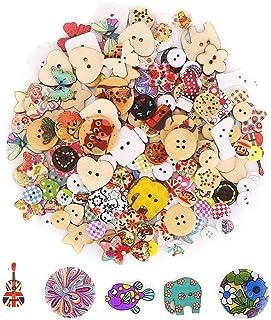 CCINEE ボタン(約200個) アクセサリーパーツ ボタン 手芸材料セット 工芸品 DIY ギフト クラフト 約200個 ミックスカラー