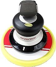 "AirVANTAGE Industrial Grade Random Orbital Air Sander Non-Vacuum With Low-Profile Pad, 1/4 in. NPT Air Inlet (5"": 3/32- PSA Vinyl)"