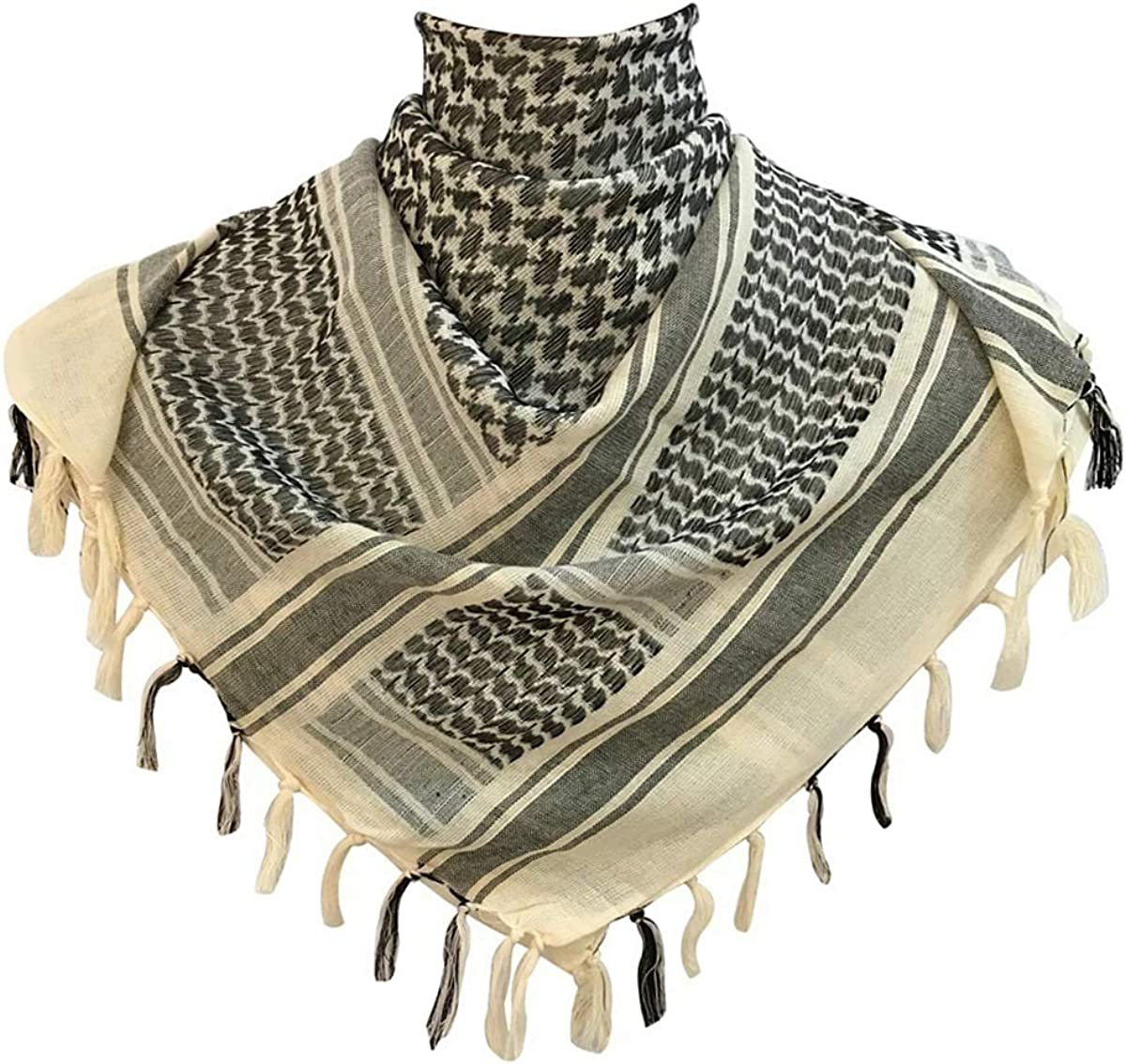 G.S Regular store YOZOH 100% Cotton Import Scarf Tactica Arab Military Shemagh