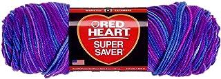 Red Heart Super Saver Yarn-Grape Fizz