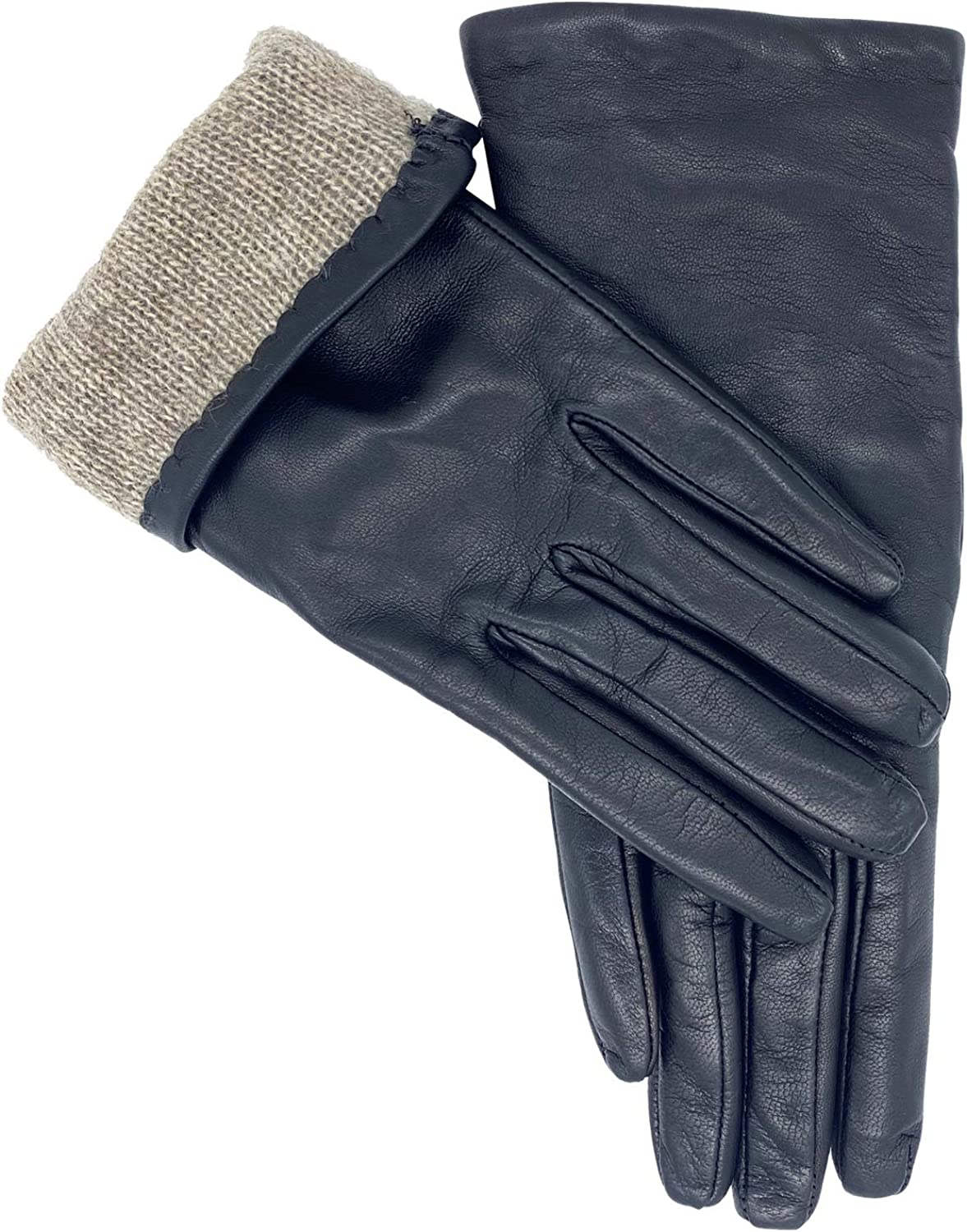 Women's Sheepskin Leather Gloves | MADE IN ITALY | Premium Cashmere Lined
