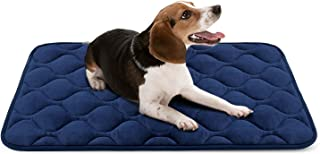 Hero Dog Dog Bed Crate Pad Mat 36/42/47 Inch Washable Anti Slip Kennel Mattress for Large Medium Small Pets Sleeping