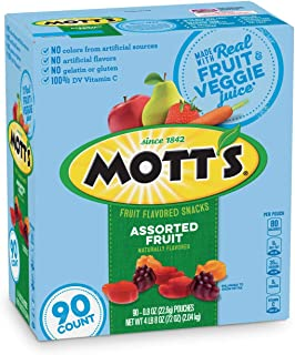 Mott's Medley Assorted Fruit Flavored Snacks (90 ct.) (pack of 2)