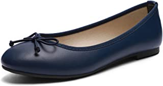 Women Ballet Flats- Casual Slip-on Comfort Walking Round Toe Loafers Shoes