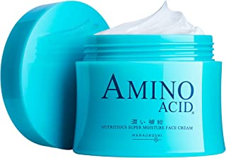 花印 浸潤保湿フェイスクリーム80g 乾燥による小じわ・冬の乾燥肌・肌荒れ対策 3種のセラミド&11種のアミノ酸配合 メンズも使える
