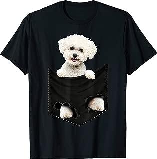 Bichon Frise Pocket Mid T Shirt