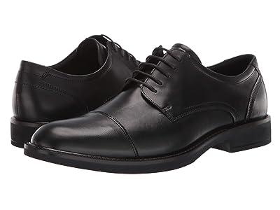ECCO Biarritz Cap Toe Tie (Black) Men