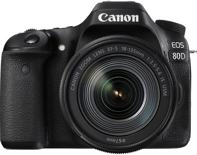 Canon EOS 80d EF-S 18–135IS Nano USM Cámara Réflex color Negro