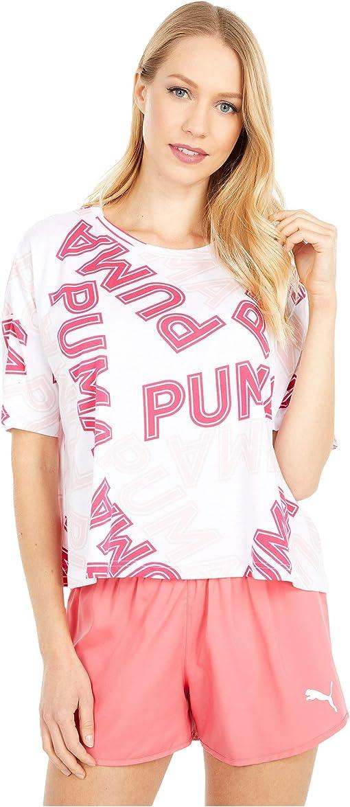 Puma White/Bright Rose