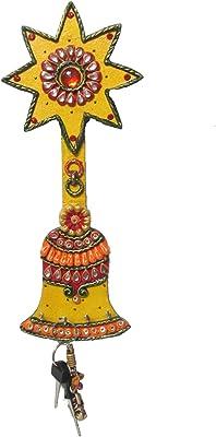 eCraftIndia Papier-Mache Bell Key Holder