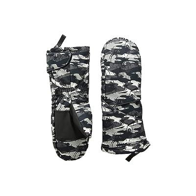 Spyder Kids Mini Cubby Ski Mitten (Toddler) (Spyder Camo Black/Black) Ski Gloves