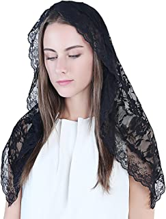 Best black lace mantilla veil Reviews