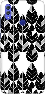Stylizedd Huawei Honor 8X Slim Snap Basic Case Cover Matte Finish - Teardrop Leaves