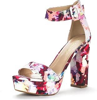 Best floral platform sandals Reviews