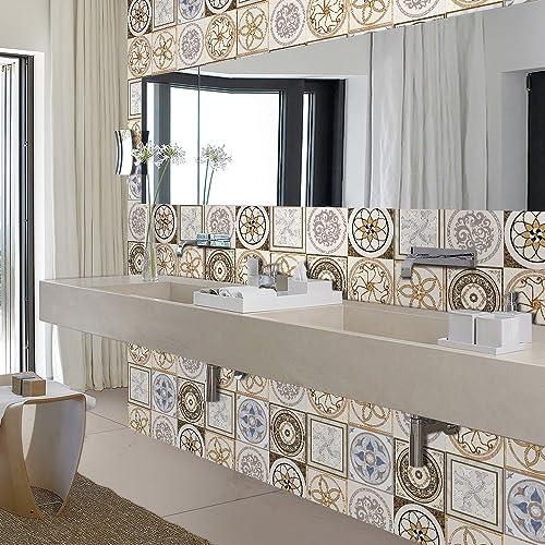 Bathroom Peel And Stick Wallpaper Amazon Com