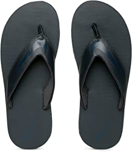 Nike Men's Anthracite and Armory Navy Chroma Thoung 5 Flip Flops (833808-015)