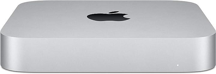 Mac mini apple (chip apple m1 con cpu 8-core e gpu 8 core, 8gb ram, 256gb ssd)